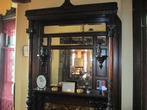 nw parlor mantle